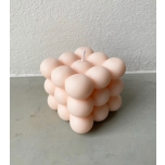 BUBBLE CANDLE LIGHT PINK